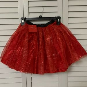 Light Up Red Sparkly Tutu
